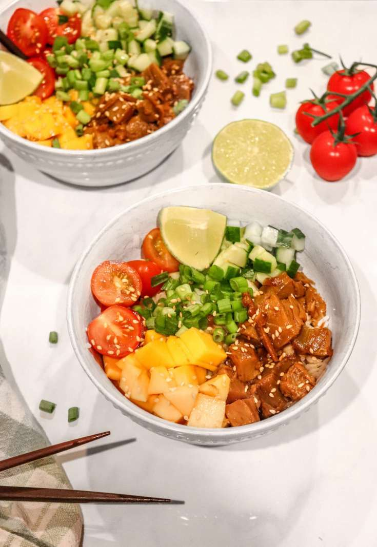 Easy and Delicious Tuna Poke Bowl Recipe