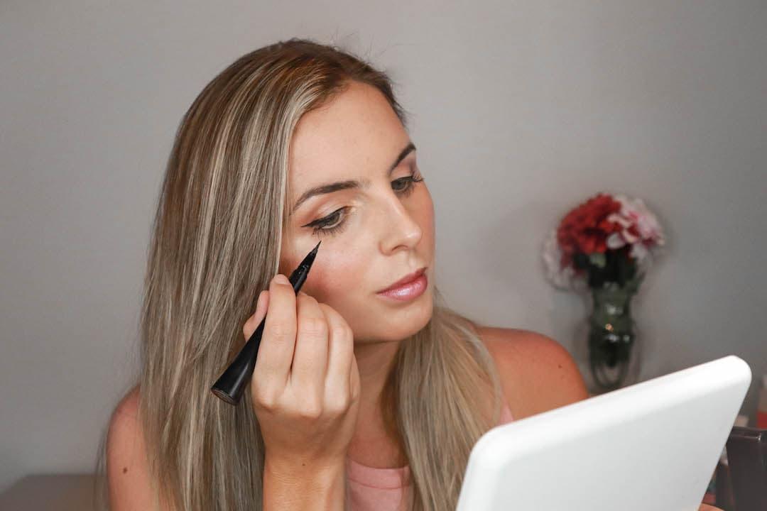 Felt Tip Eyeliner for Beginners