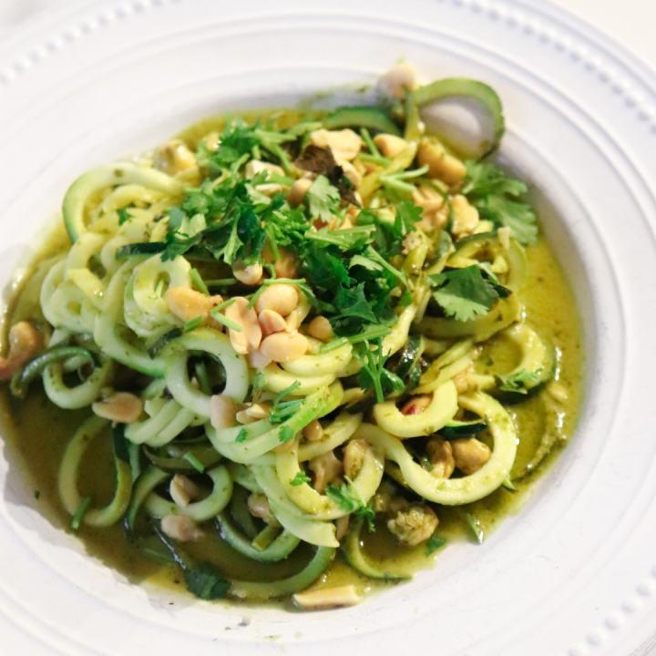 Pesto Zucchini Pasta Recipe