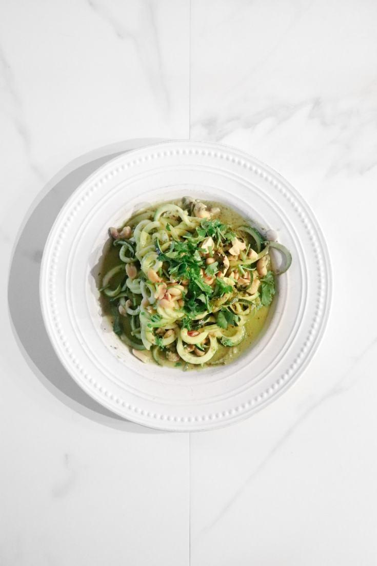 Zucchini Pesto Pasta Recipe