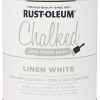 Rust-Oleum Ultra Matte Interior Chalked Paint Linen White