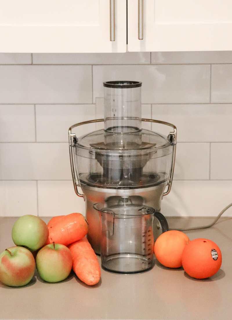 Healthy Glow Boosting Apple Carrot Juice Recipe