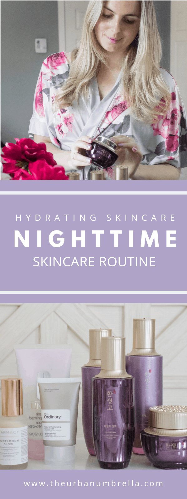 My Nighttime Skincare Routine | PM Beauty