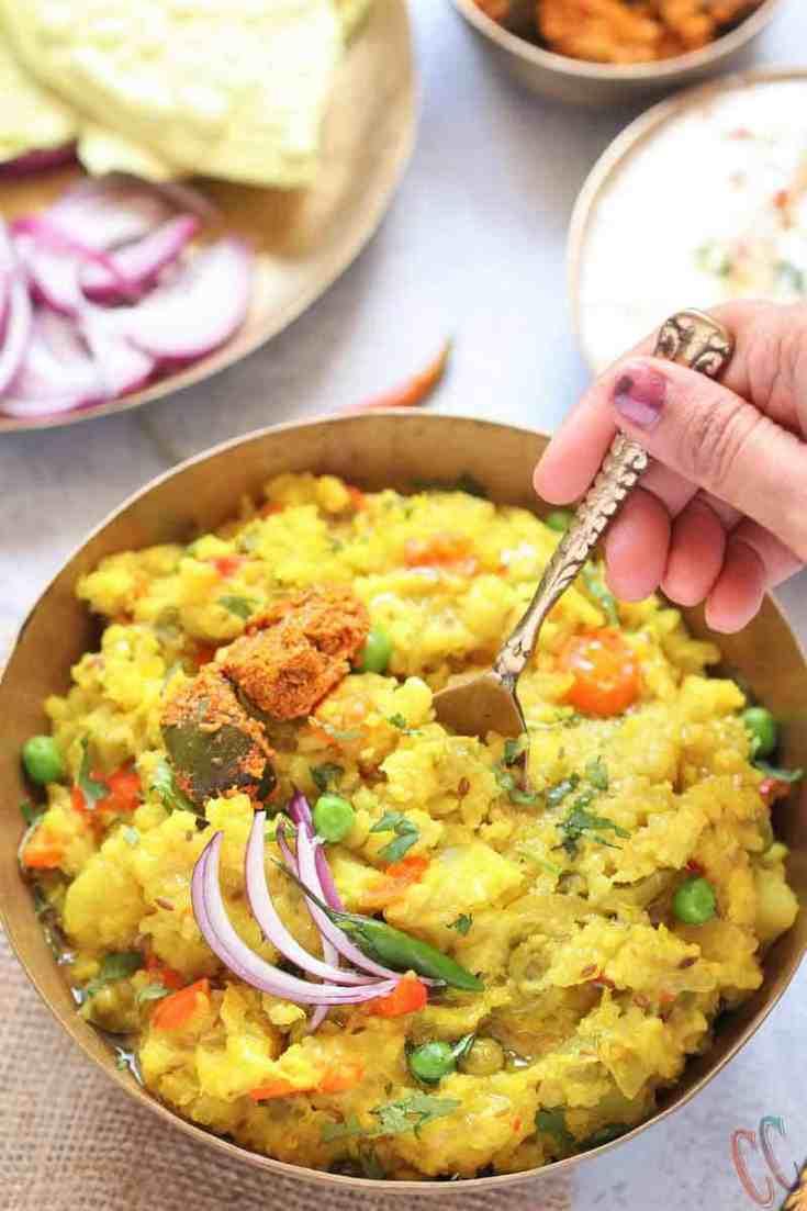Instant Pot Quinoa Dal Khichdi - Pressure cooker Khichdi