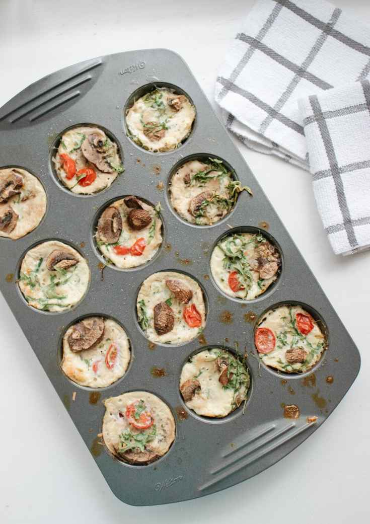 Low Carb and Gluten Free Egg White Muffin Cups