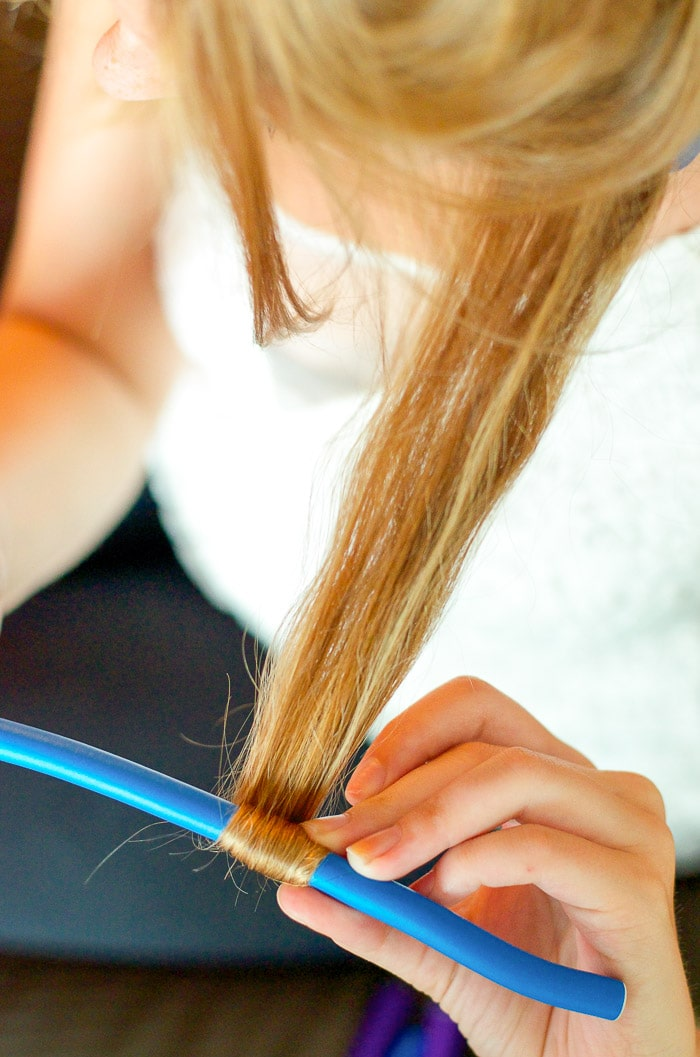beach waves hair,Heatless Hairstyle