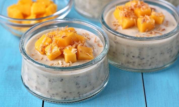 Creamy Coconut Mango Chia Pudding