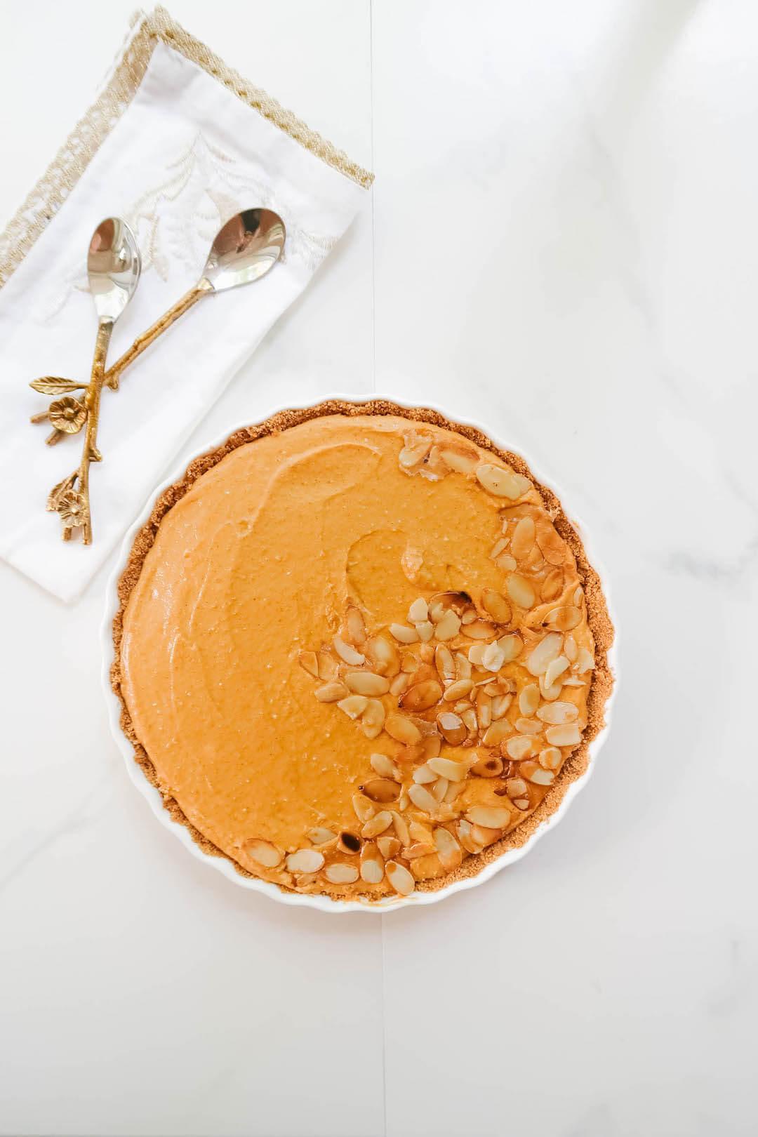 Quick No-Bake Pumpkin Tart Recipe