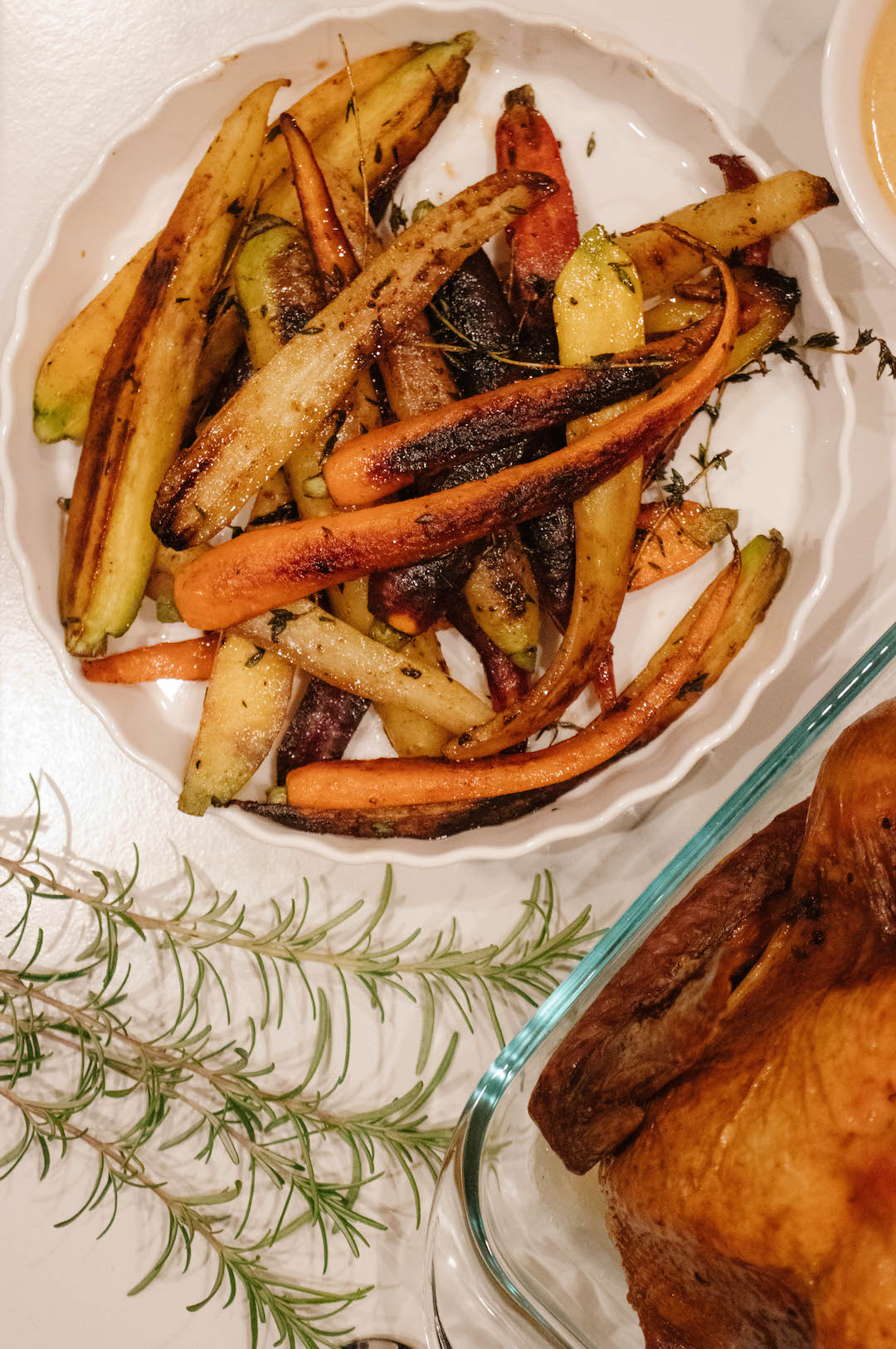 Healthy Sweet and Smoky Paprika Herb Roasted Carrots