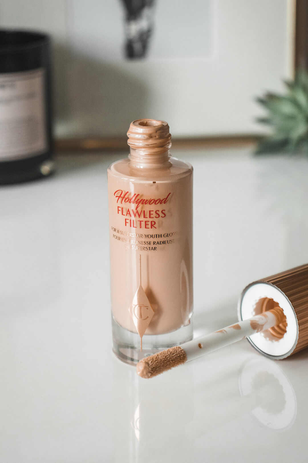 The Charlotte Tilbury Hollywood Flawless Filter Is the Prettiest Highlighter... Ever?