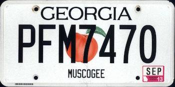license plate rankings