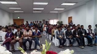 Wahid bin Ahsan taking session on UX at Digital World, 2015