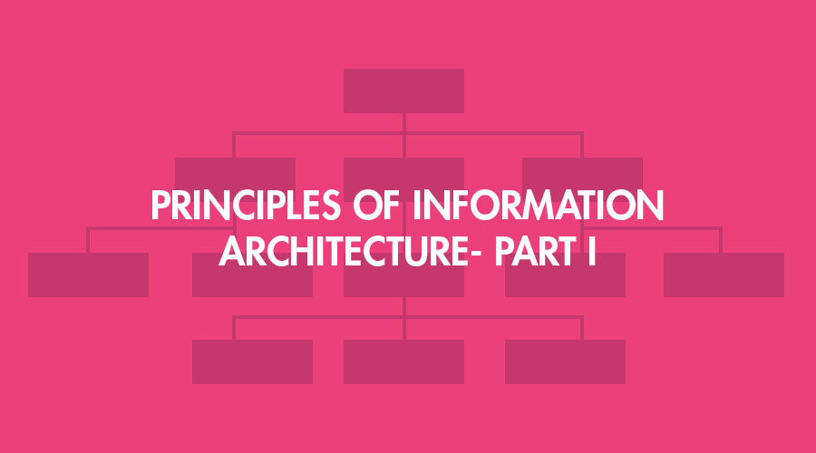 Principles of Information Architecture Part I