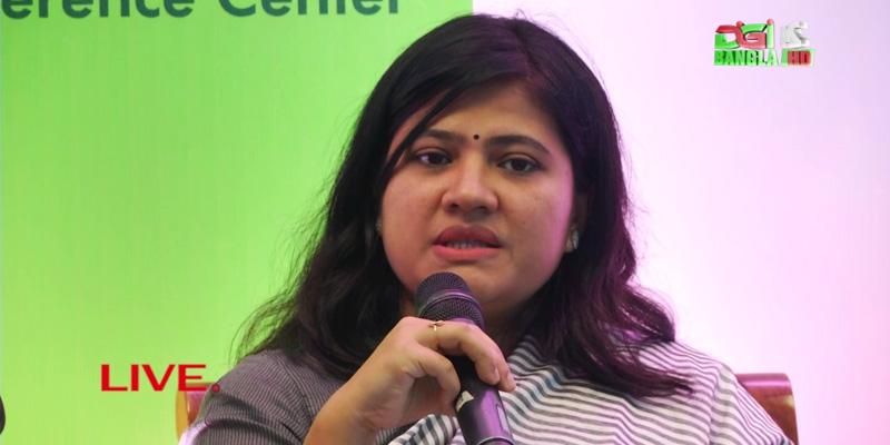 Nilim Ahsan at the BASIS Soft Expo 2017