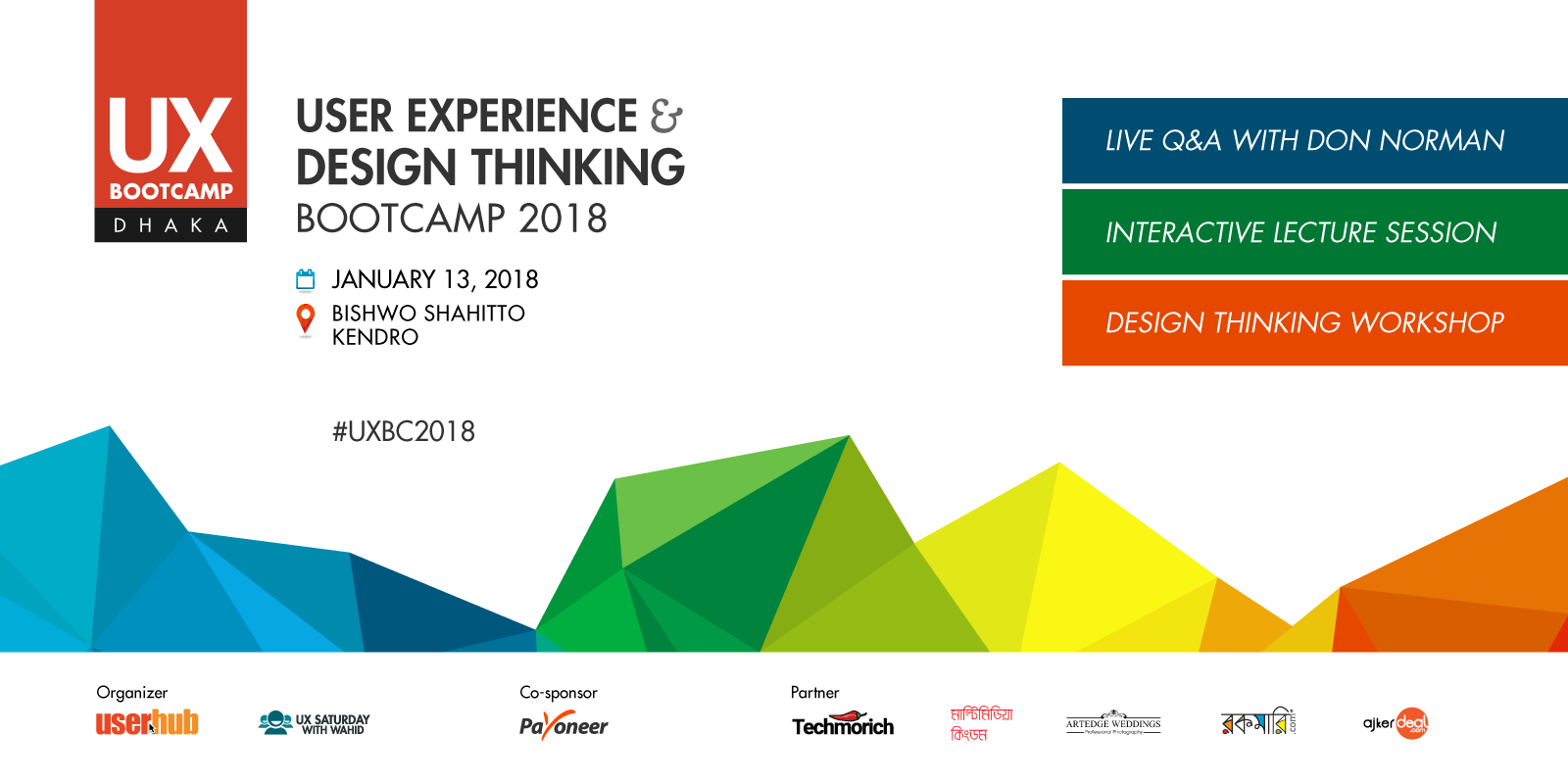 UX Design Boot Camp 2018: Day-long User Experience & Design Thinking Workshop