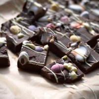 Easter chocolate fudge