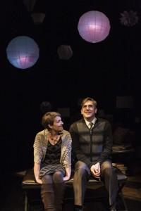 Susanna Florence Risser and Mark Fossen, 'Pilot Program,' Plan-B Theatre, Photo by Rick Pollock.