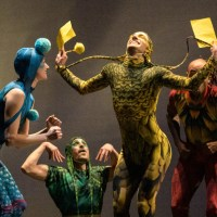 Poetic excellence as literary, dance worlds merge in the live creature and ethereal things concert: Ririe-Woodbury Dance Company, Flying Bobcat Theatrical Laboratory, Red Fred Project