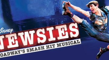 Extra!Extra! Disney's Broadway production Newsies takes the stage