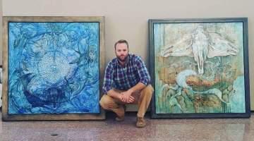 Artist Cody Chamberlain's obsessive muse, spiritual solace in the Utah desert
