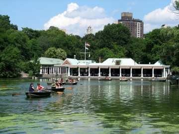 Restaurant in Central park