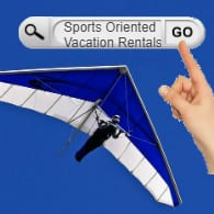 search for vacation rentals near sports facilities