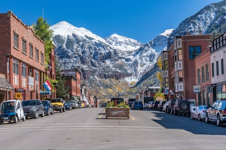 The Vacation Rental Trave Guide: Downtown Telluride: Culture, Art, Shopping, and Snow Sports Ahead