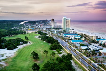 Panama City, Florida, review the vacation Rental Travel Guide