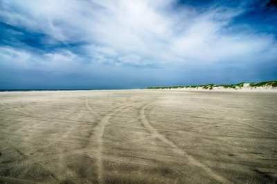 Sandy Beach at Outer Banks