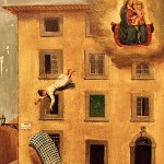 Falling from a window in Livorno