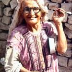 Lady Beggar in Karachi