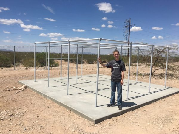 """Local Student Raises Funds for """"9 Square Pad"""" at Esmond ..."""