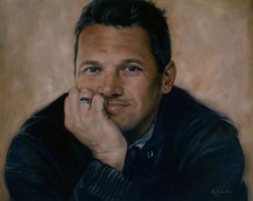 Portrait in Oils by Annabelle Valentine
