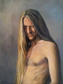 Vlad, a Portrait in Oils by Annabelle Valentine