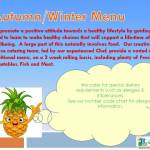 Autumn / Winter menu 2020