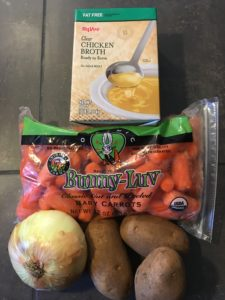 RIDICULOUSLY Easy Carrot Soup