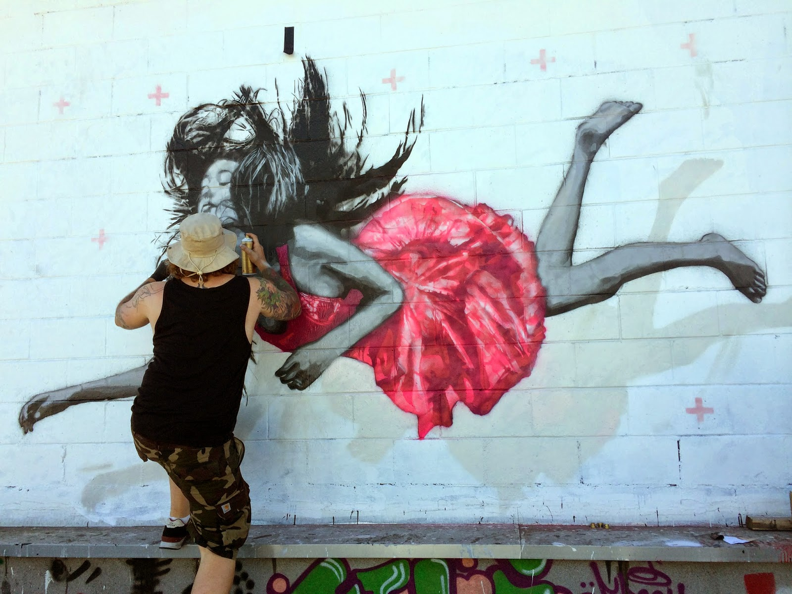 Snik Street Art Los Angeles Usa