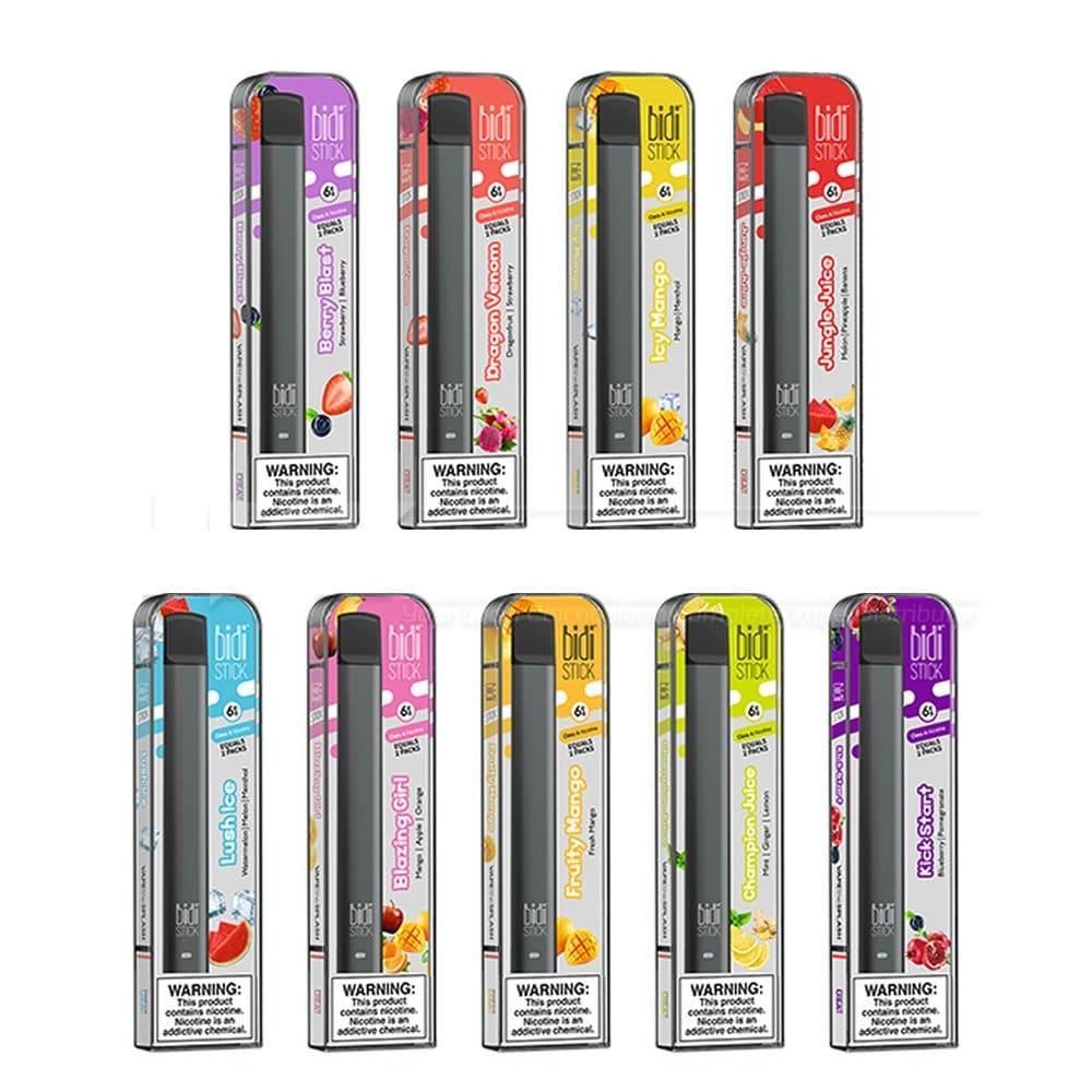 Bidi Disposable Vape Device 6pcs Sale The Vapers World