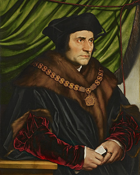 The famous 1527 portrait by Hans Holbein the Younger