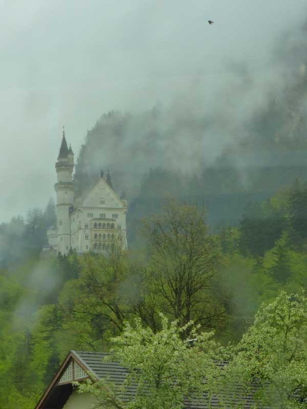Neuschwanstein from the flat