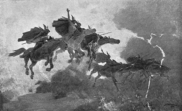 """""""O finish thy work! Fill up the cup!"""" (John Charles Dollman painting, 1909)"""