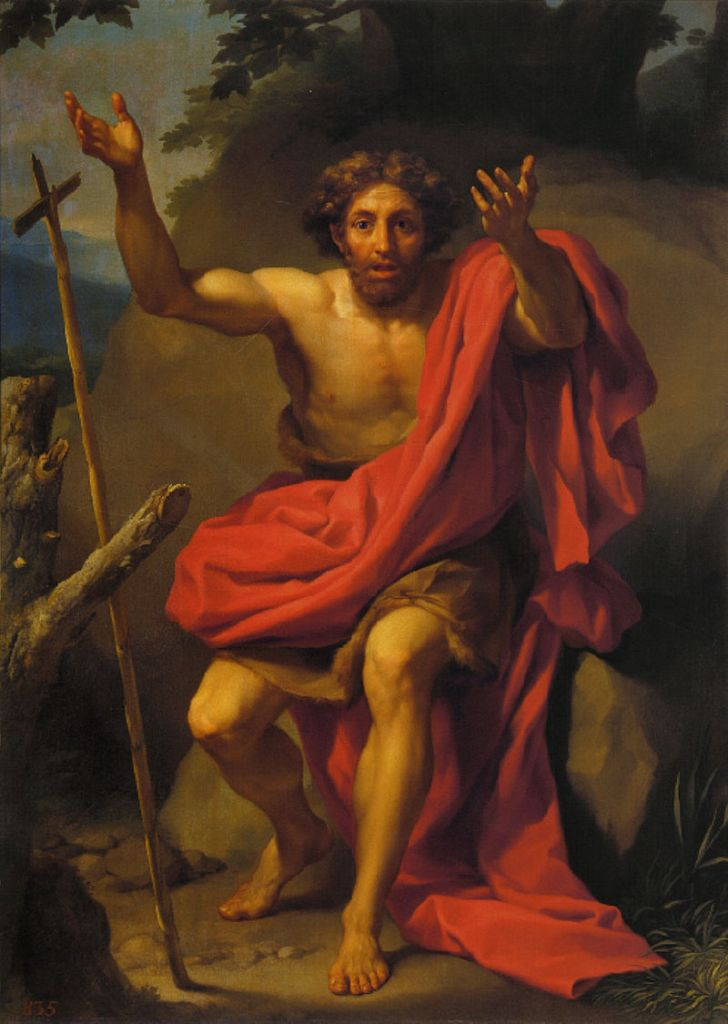 John as manic wilderness preacher by J Mengs