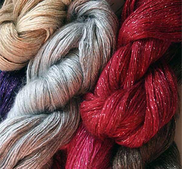 The PROPER yarn. http://www.fabulousyarn.com/artyarns_silkrhapsodyglitter_light.shtml