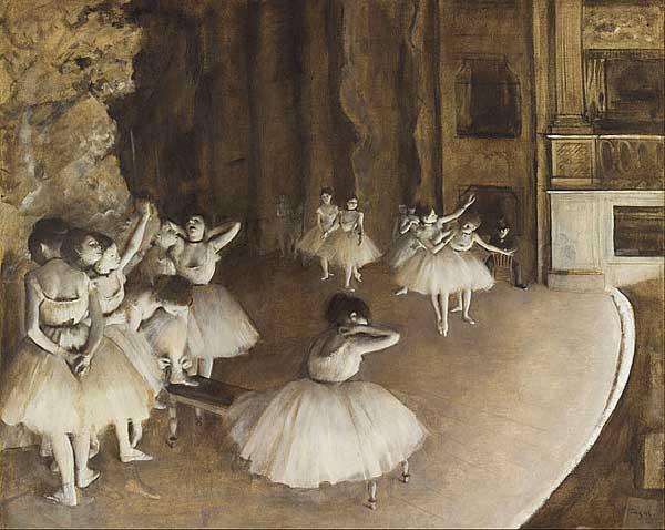 'Ballet Rehearsal' by Degas (1874)