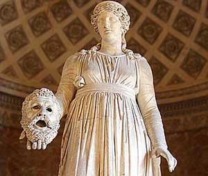 Melpomene (50BC, Louvre)