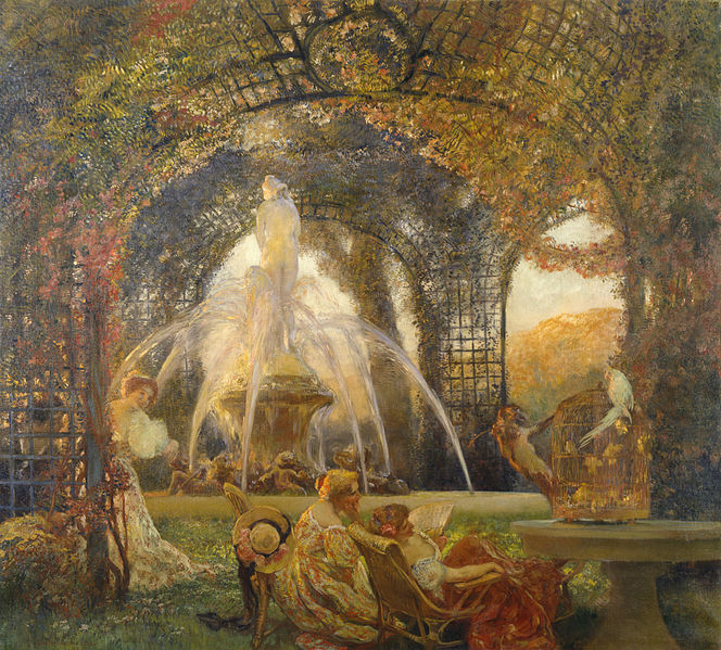 (Painted by Gaston La Touche)