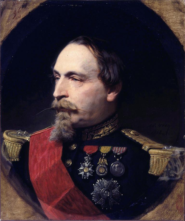 Napoleon III *oil on canvas *55.7 x 46.7 cm *1868