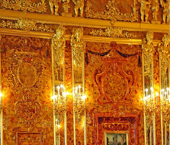 Not the real Amber Room (photo by Dennis Jarvis)