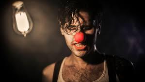 Not a happy clown