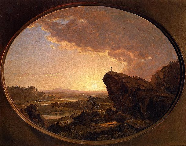 ('Moses Viewing the Promised Land' by Frederic Edwin Church